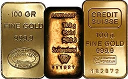 100g Gold Bar Our Choice Pre-Owned 22254