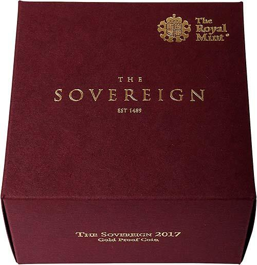 2017 Gold Sovereign Proof 21505