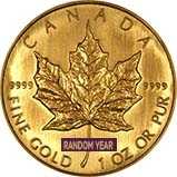 1 oz Gold Coin Maple Bullion Best Value Secondary Market 21328