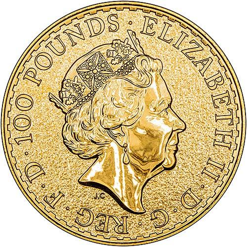 2017 Gold Britannia 1 Oz Bullion Coin Chard