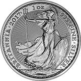 2017 1 oz Silver Coin Britannia Bullion 23243
