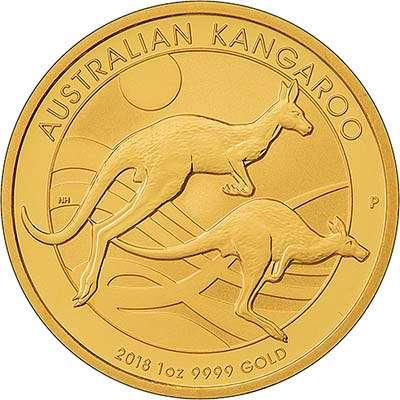 2018australia1oz100dollarskangaroogoldrev400