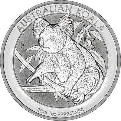 2018australia1oz1dollarkoalasilverrev400