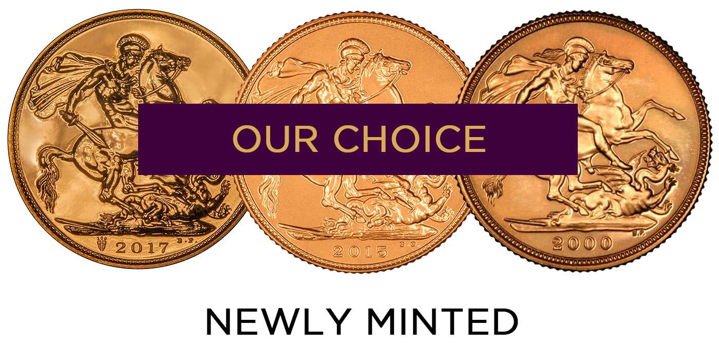 OurChoiceNewlyMintedSovereigns