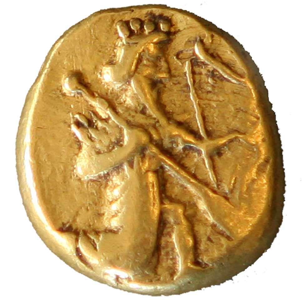 Achaemenid_coin_daric_420BC