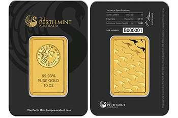 Australian Kangaroo Gold Bars