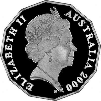 2000australia50centsroyalvisitsilverobv400
