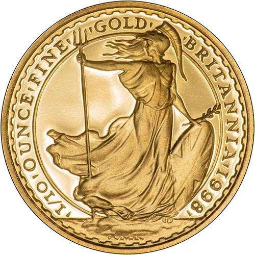 1998elizabethiitenthoz10poundsbritanniagoldproofrev500-B-1