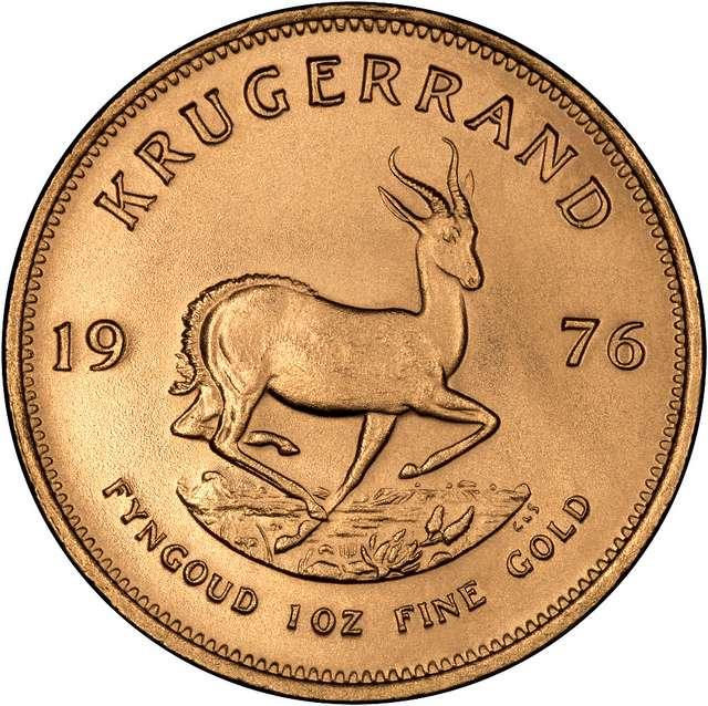 1976 Krugerrand 1oz gold coin